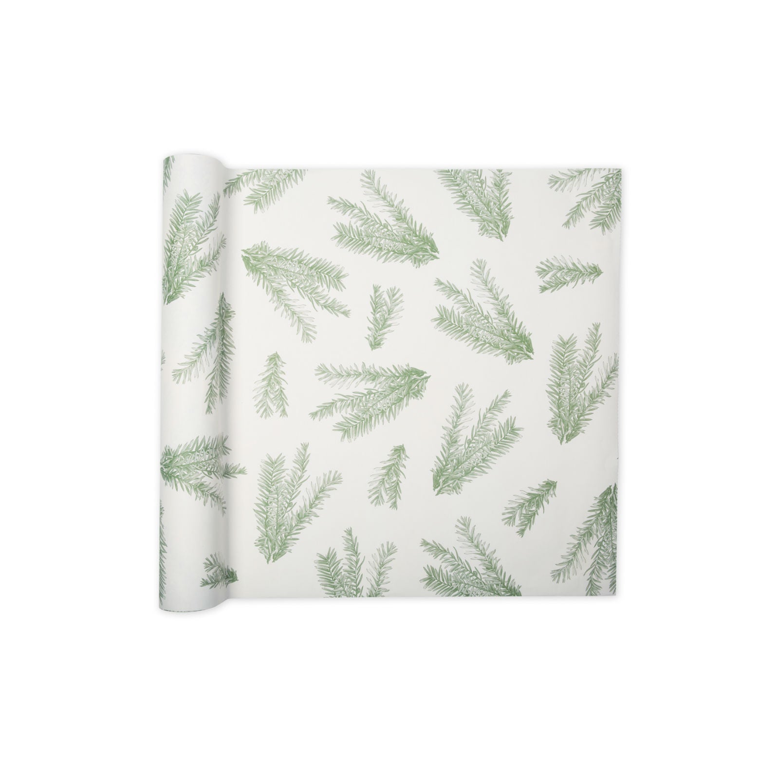 Winter Green Paper Runner