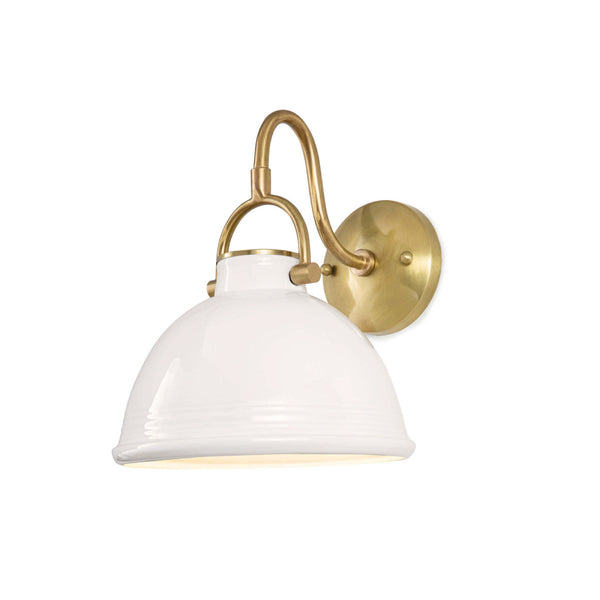 Tucci Sconce in White