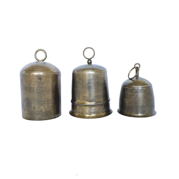 Brass Bell Set