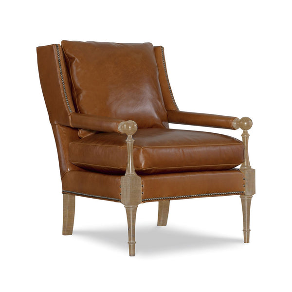 Van Dyke Leather Chair