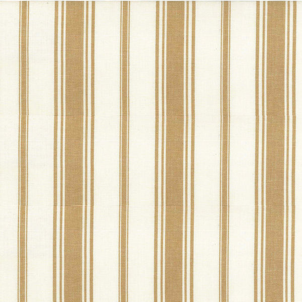Wentworth Stripe Fabric in Camel