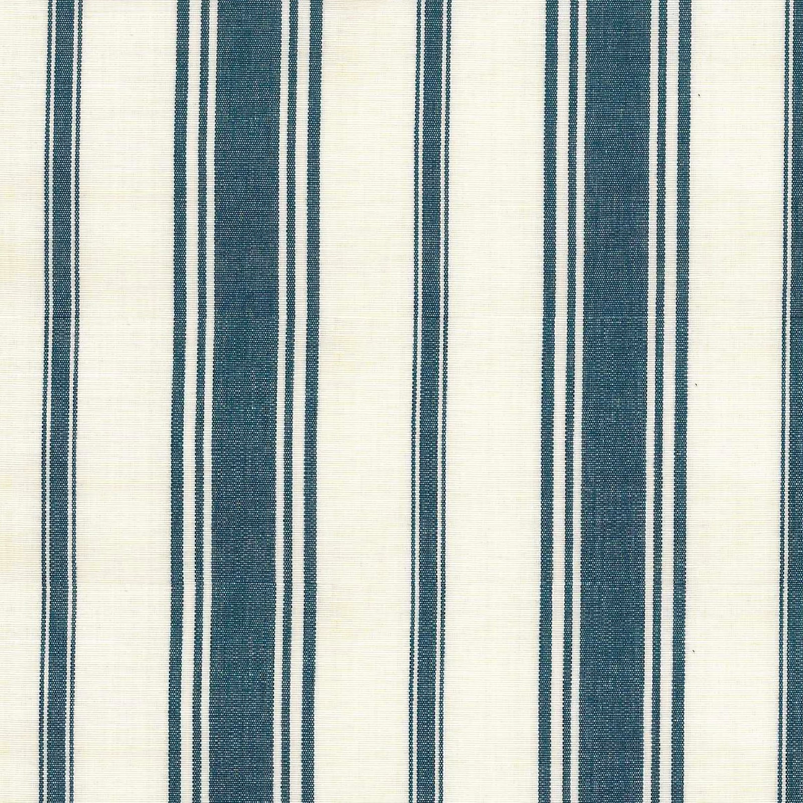 Wentworth Stripe Tablecloth in Navy