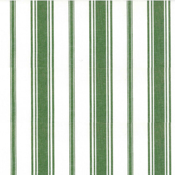Wentworth Stripe Fabric in Olive