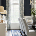 Victoria Rug in Blue and White