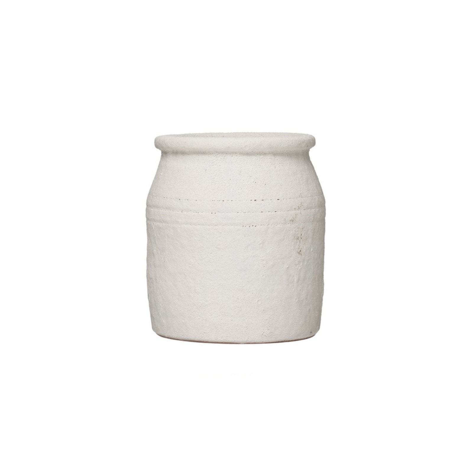 White Terracotta Crock