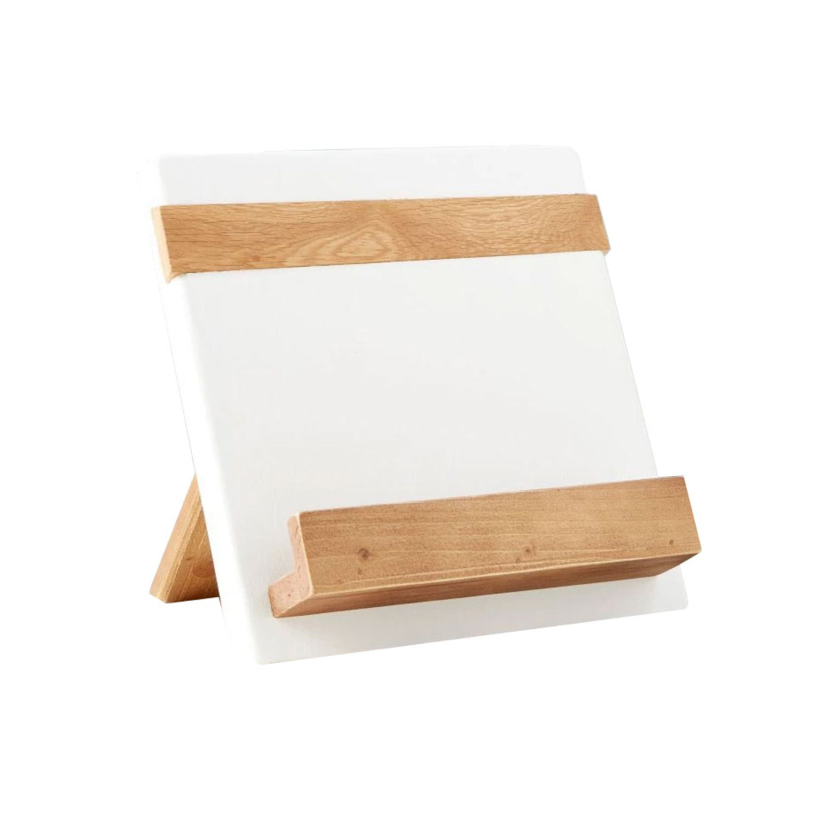 Cookbook Stand in White