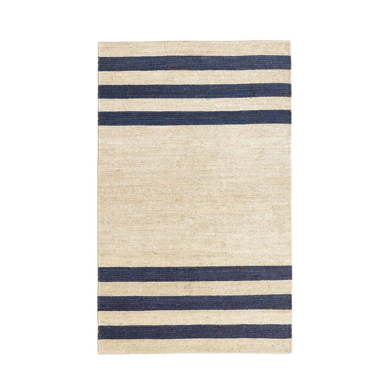 Williams Woven Jute Rug in Blue