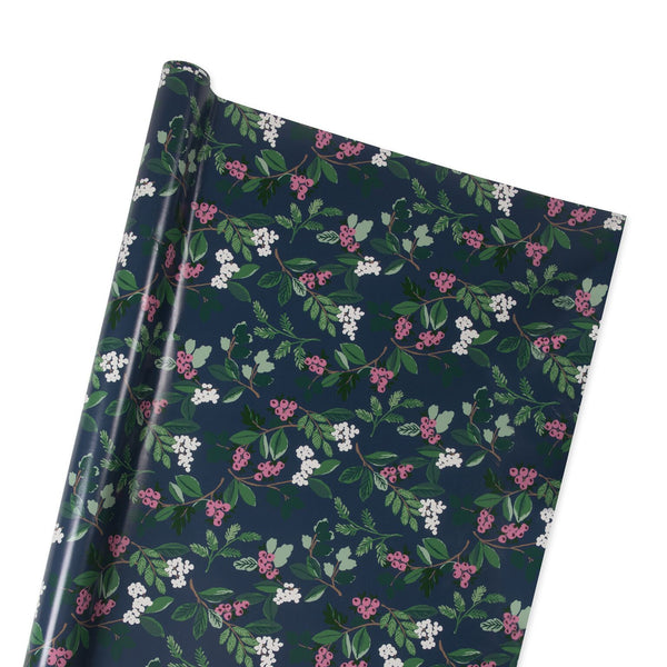 Winter Berry Wrapping Paper in Multi