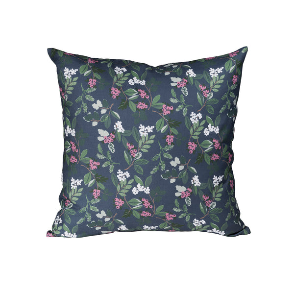 Winter Berry Pillow - Multi