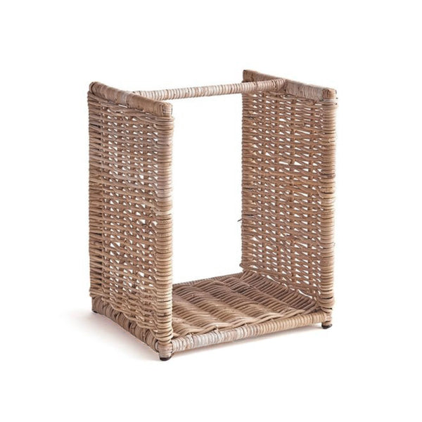 Wood Stacking Basket