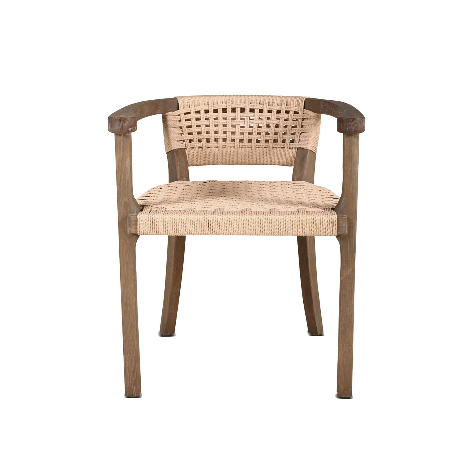 Rattan Klismos Chair