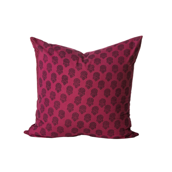 Cranberry Zoya Pillow