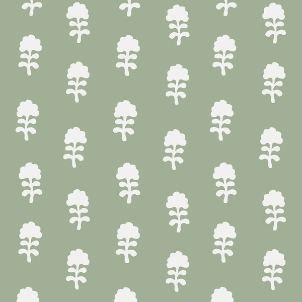 Birdie Fabric in Sage