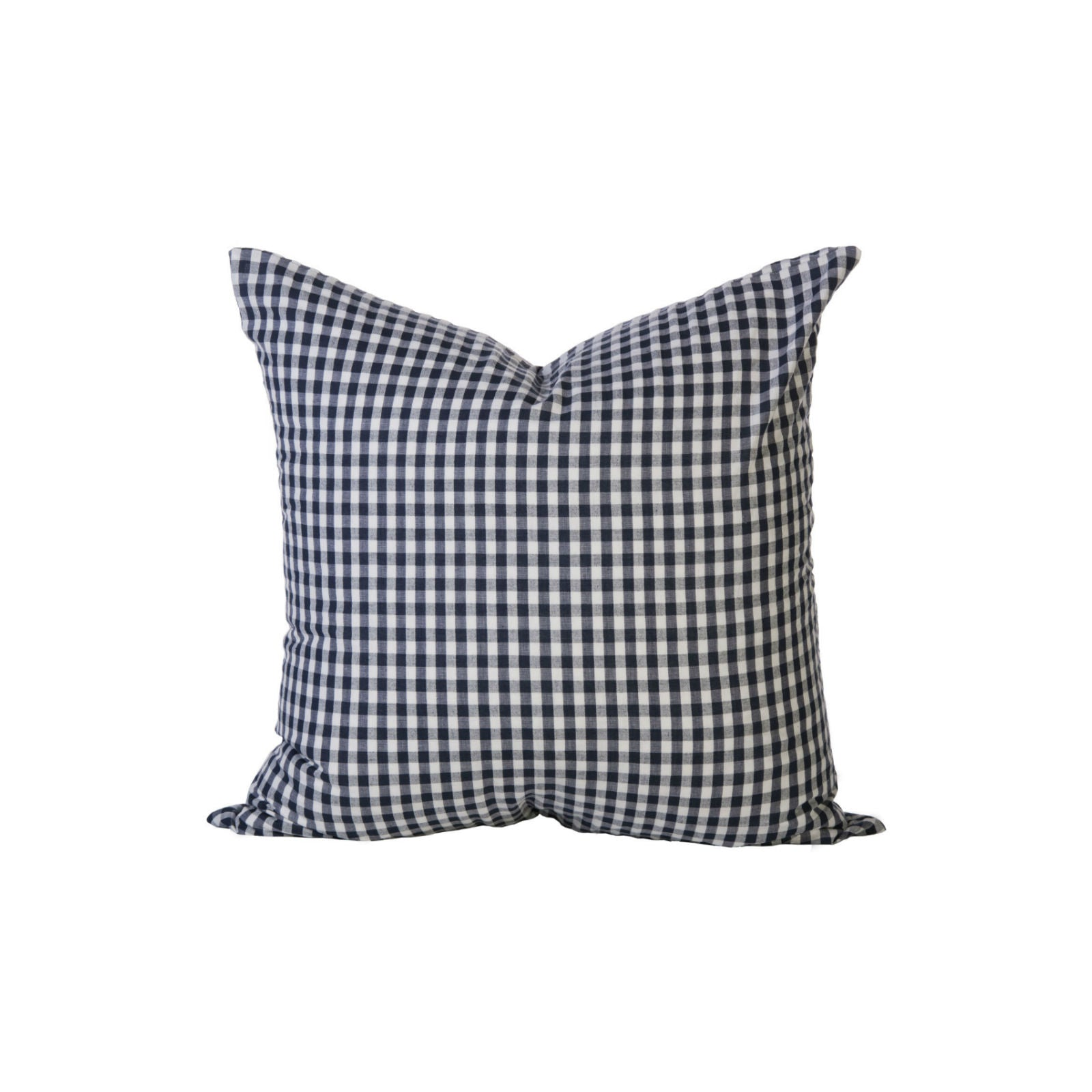 Hannah Check Pillow