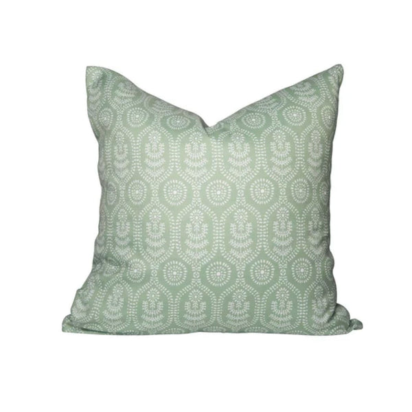Ella Pillow in Frosted Green