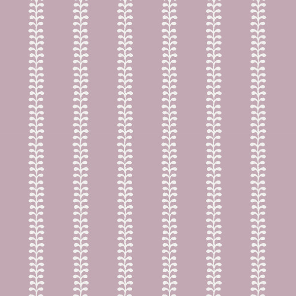 Fern Fabric in Lilac