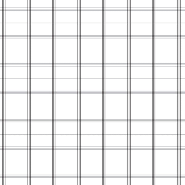 Linden Plaid Fabric in Stone Grey