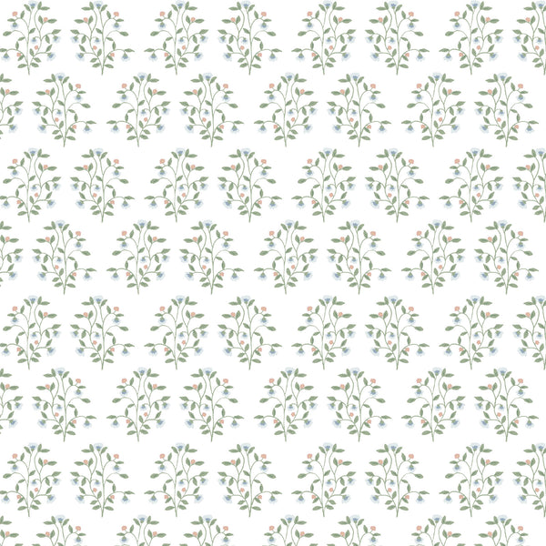 Lucille Floral Fabric in Multi