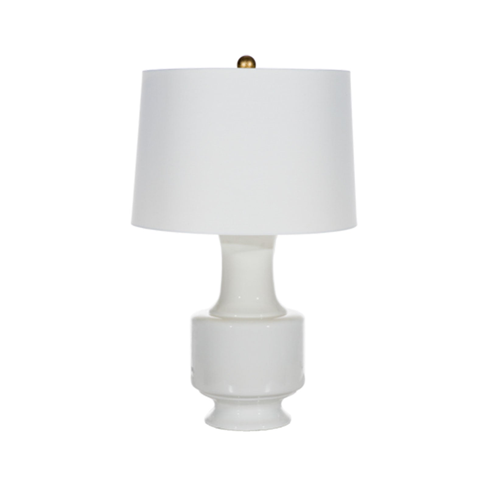 Megan Lamp in White