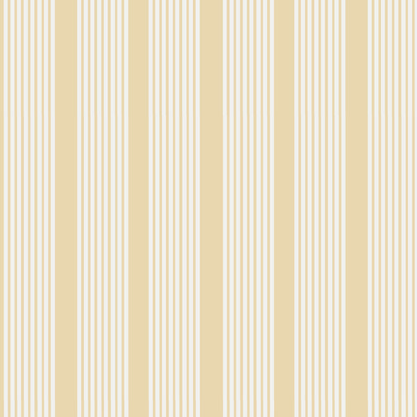 Oscar Stripe Fabric in Honey