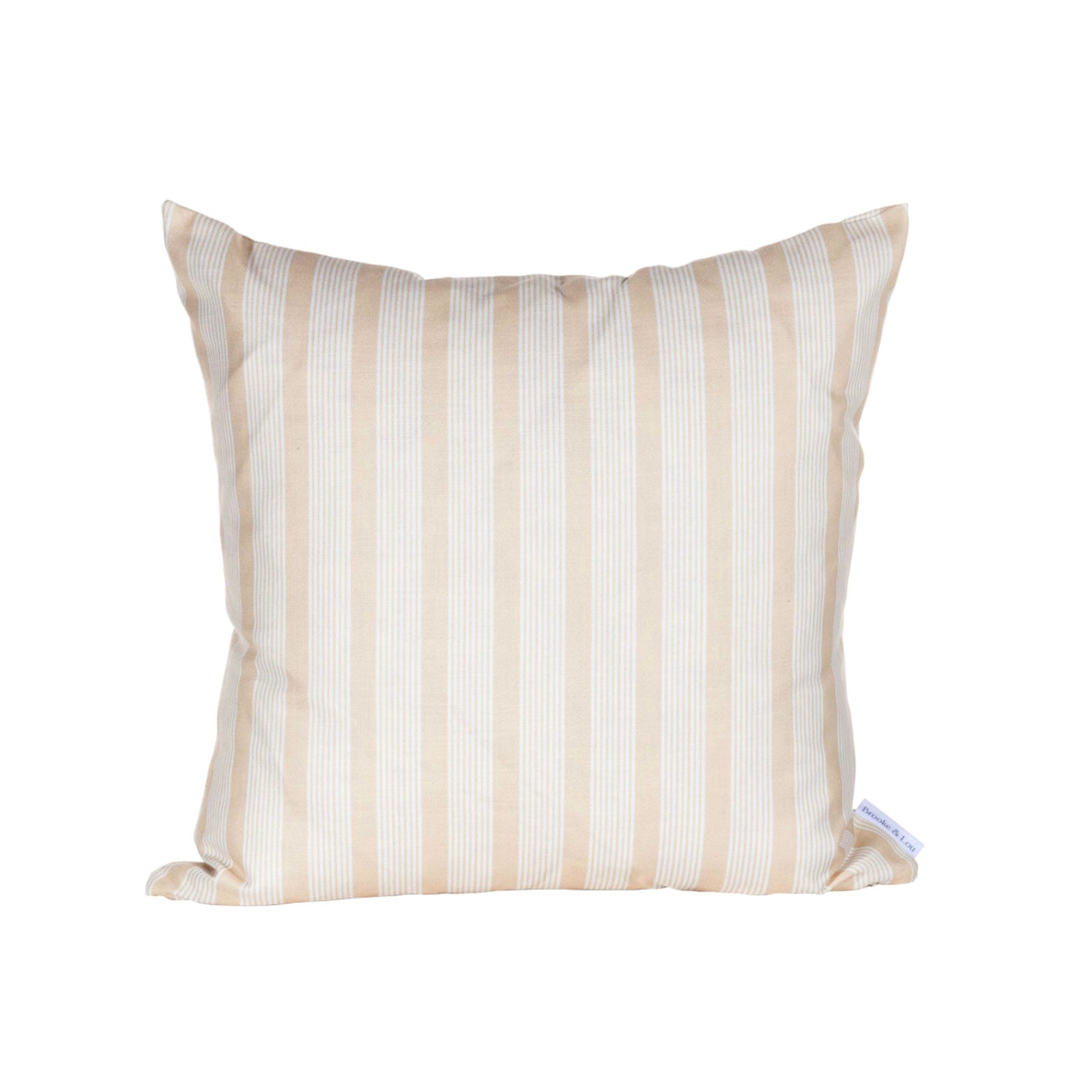 Oscar Stripe Pillow in Honey