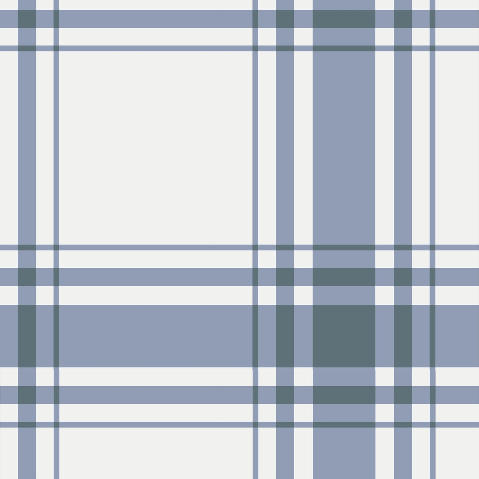 Oxford Plaid Wallpaper in Periwinkle