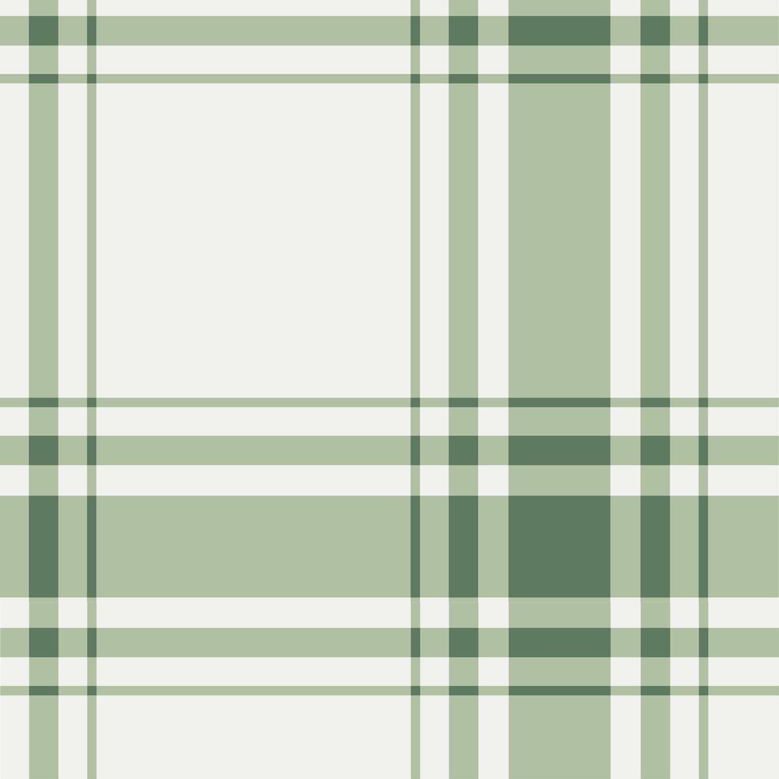 Oxford Plaid Wallpaper in Sage no. 1