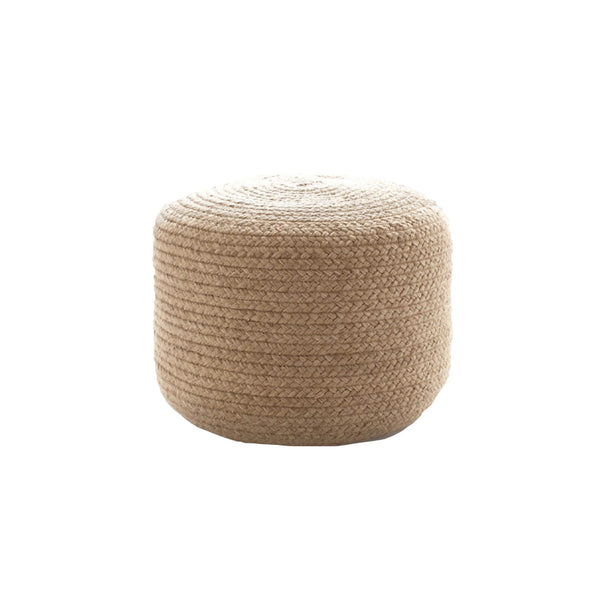 Woven Indoor Outdoor Poof