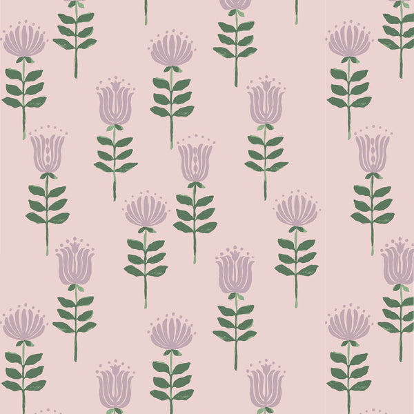 Willa Fabric in Crystal Pink