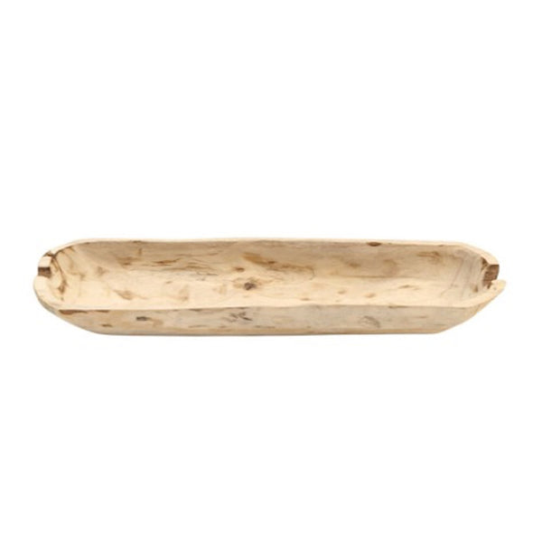 Rectangle Wood Bowl