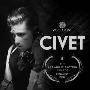 Zoologist Civet a Finalist for The Art and Olfaction Awards 2017