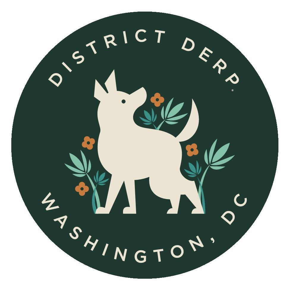 District Derp™ Official Sticker