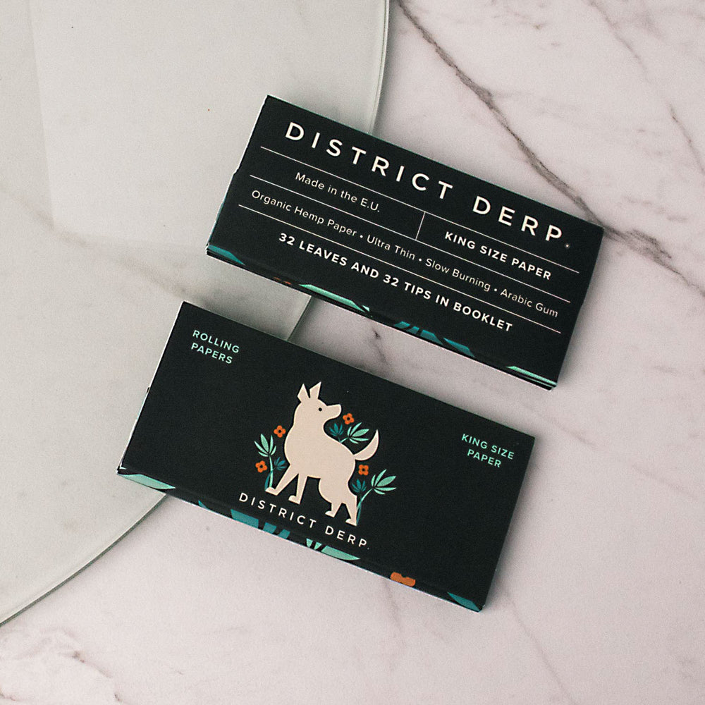 District Derp® Rolling Papers