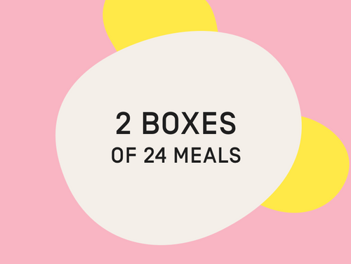 Gift Card - 2 Boxes of 24 Meals