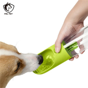 High Quality Travel Water Bottle with Release Valve for Dogs