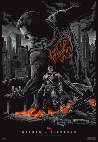 Batman v Superman: Dawn of Justice (Variant) Poster by Ken Taylor