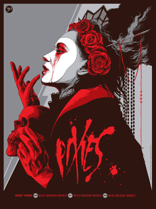 Pixies Concert Poster by Ken Taylor