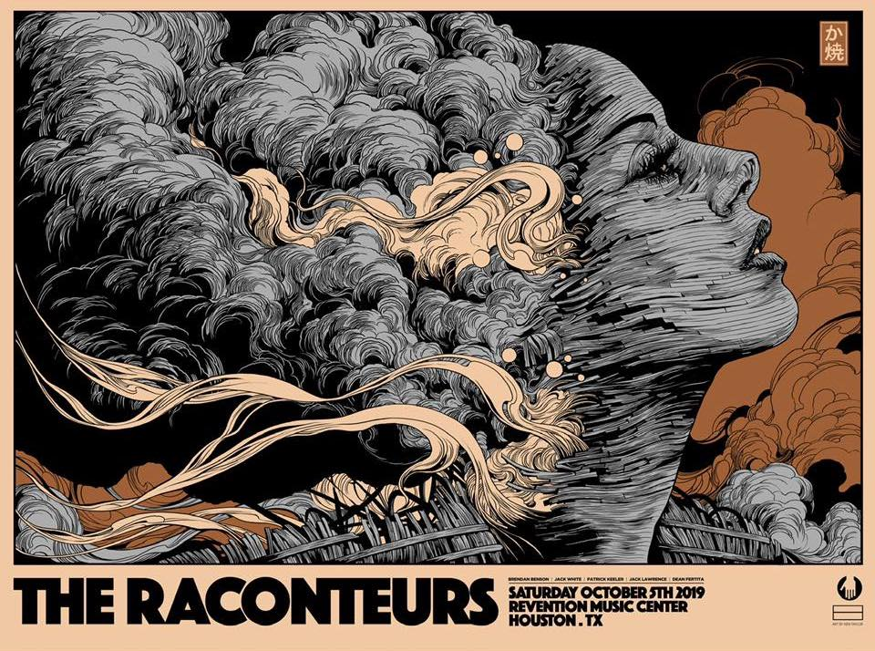The Raconteurs Poster by Ken Taylor