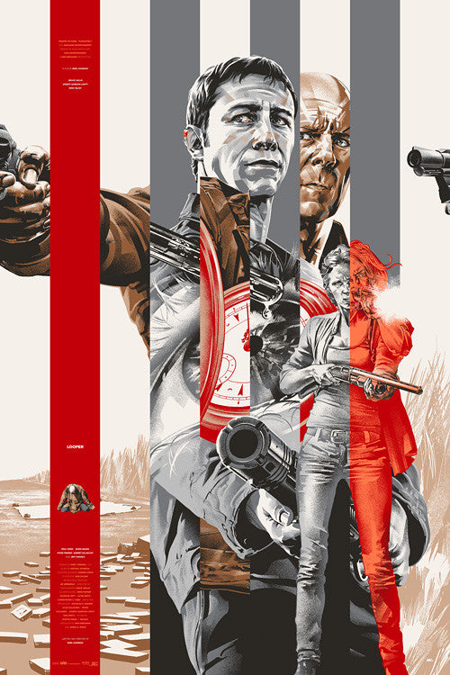Looper Poster by Martin Ansin  (SILVER)