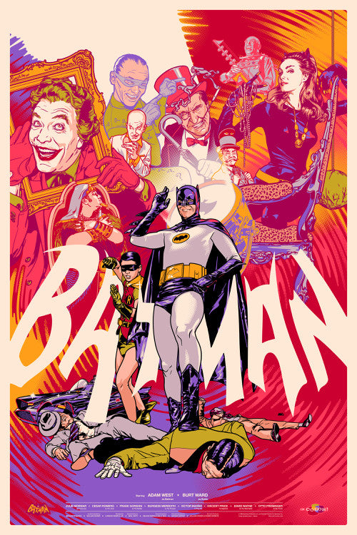 Batman Poster by Martin Ansin