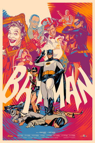 Batman Poster by Martin Ansin  (Variant)