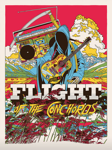Flight of the Conchords Poster by Tyler Stout