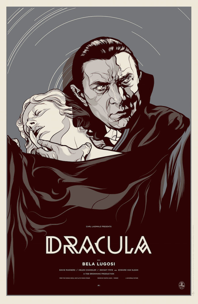 Dracula (Variant) Poster by Martin Ansin