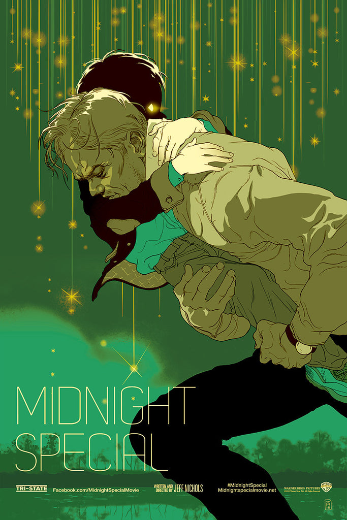 Midnight Special Poster by Tomer Hanuka