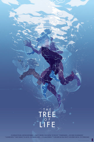 The Tree of Life (Variant) Poster by Tomer Hanuka