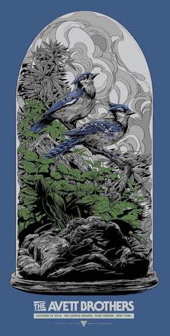 The Avett Brothers Port Chester Poster Set by Ken Taylor
