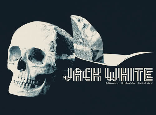 Jack White Concert Poster by Jay Shaw