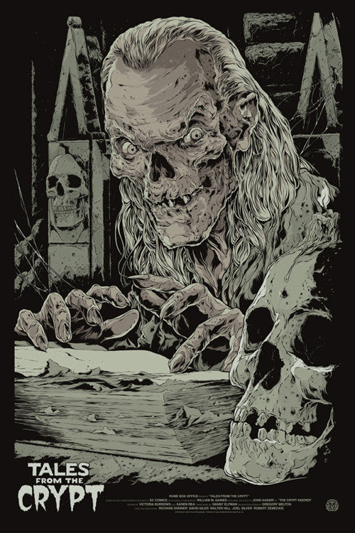 Tales from the Crypt Poster by Ken Taylor