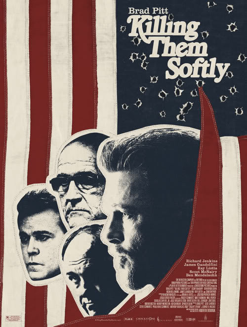Killing Them Softly Poster by Jay Shaw