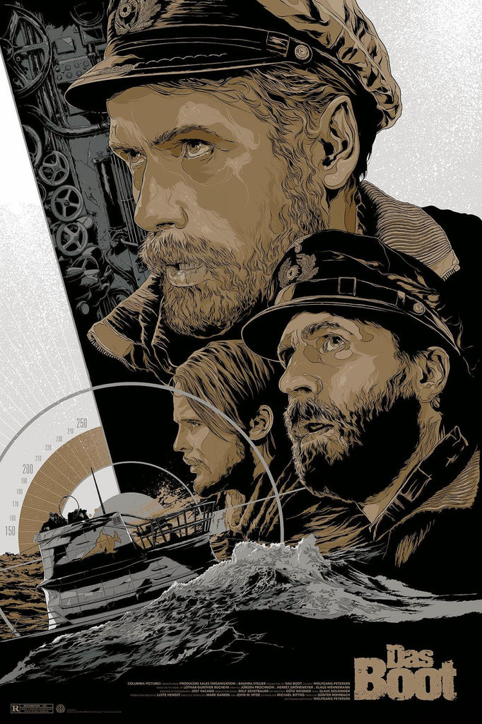Das Boot (Variant) Poster by Ken Taylor